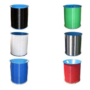 Colored nylon coated wire