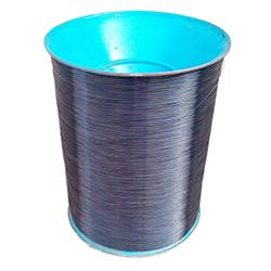 Black nylon coated wire