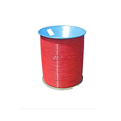 Red nylon coated wire